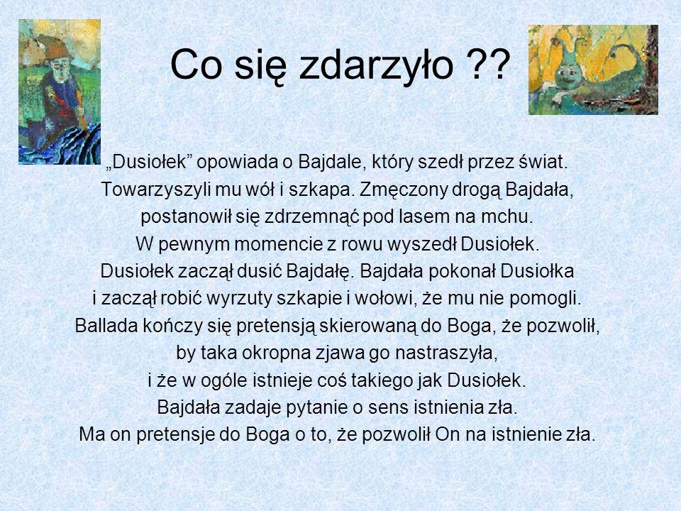 Bolesław Leśmian Dusiołek Przygotował Cibor Robert Klasa