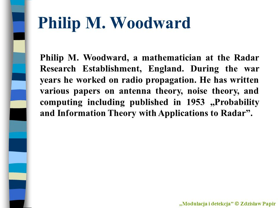 Philip M. Woodward
