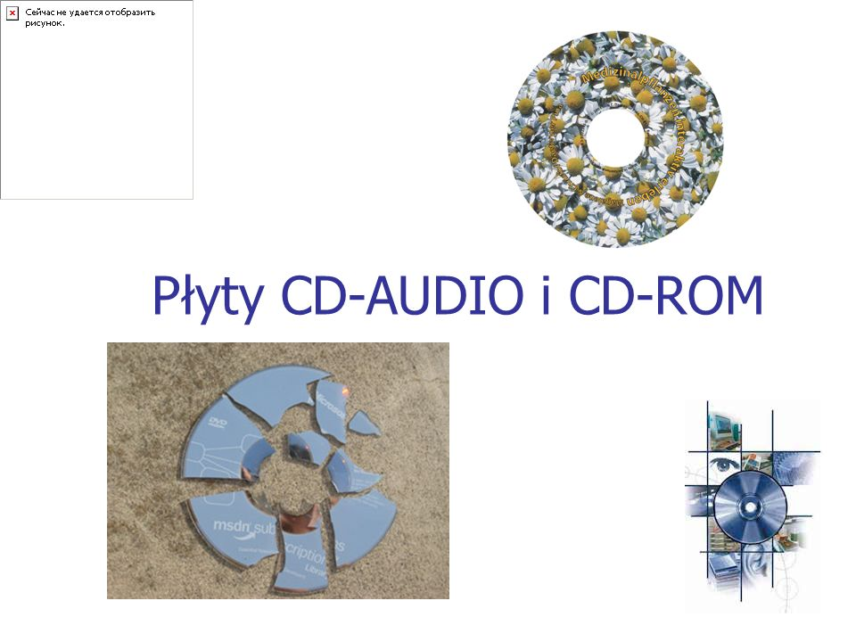 Płyty CD-AUDIO i CD-ROM