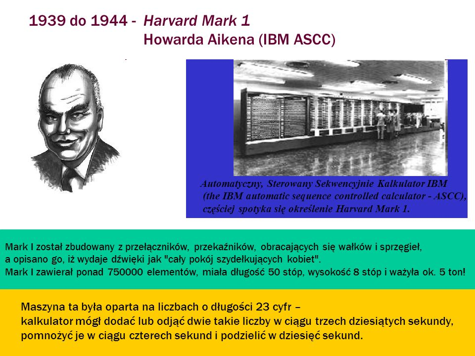 Howarda Aikena (IBM ASCC)
