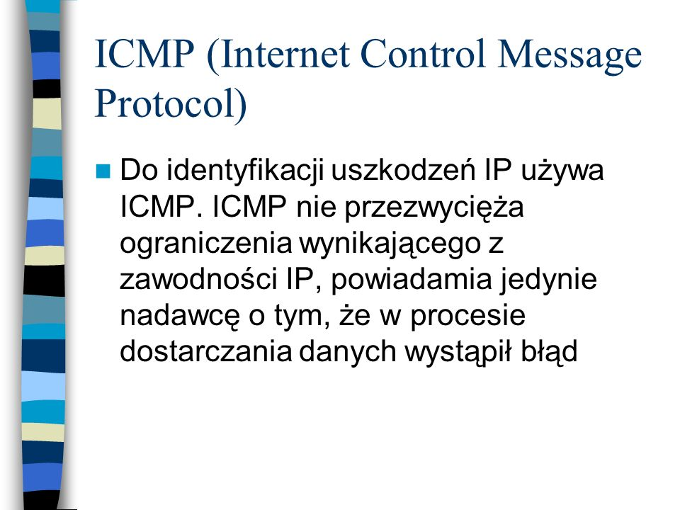 ICMP (Internet Control Message Protocol)
