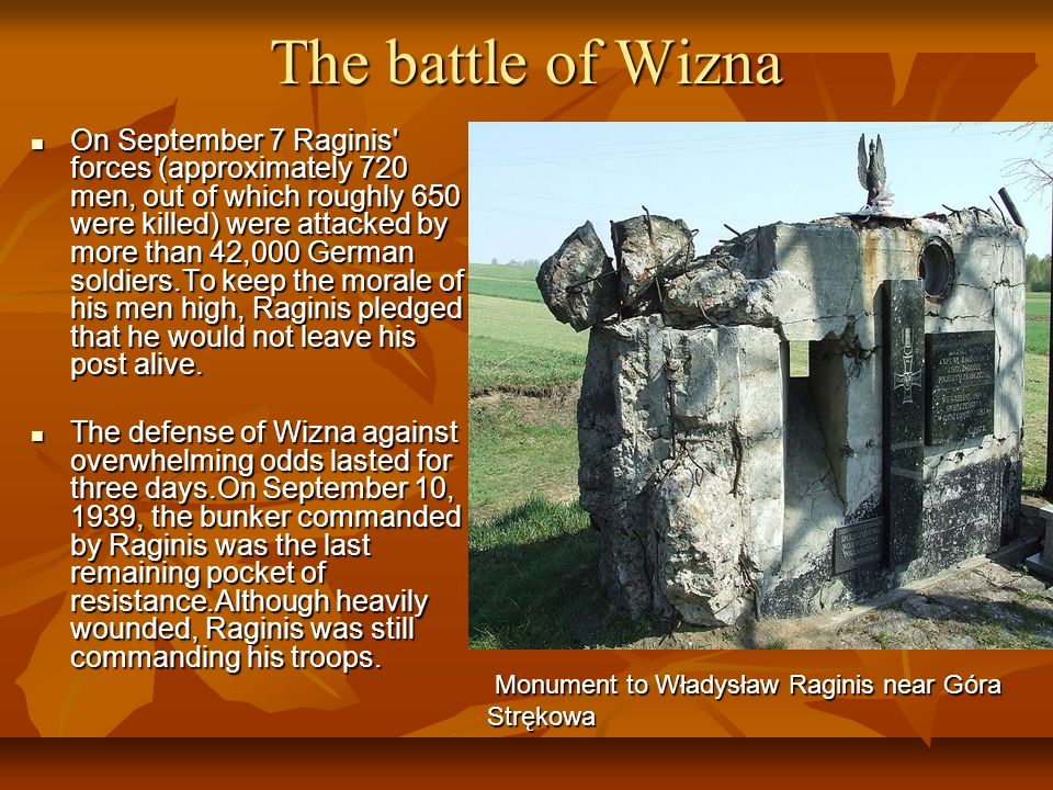The battle of Wizna