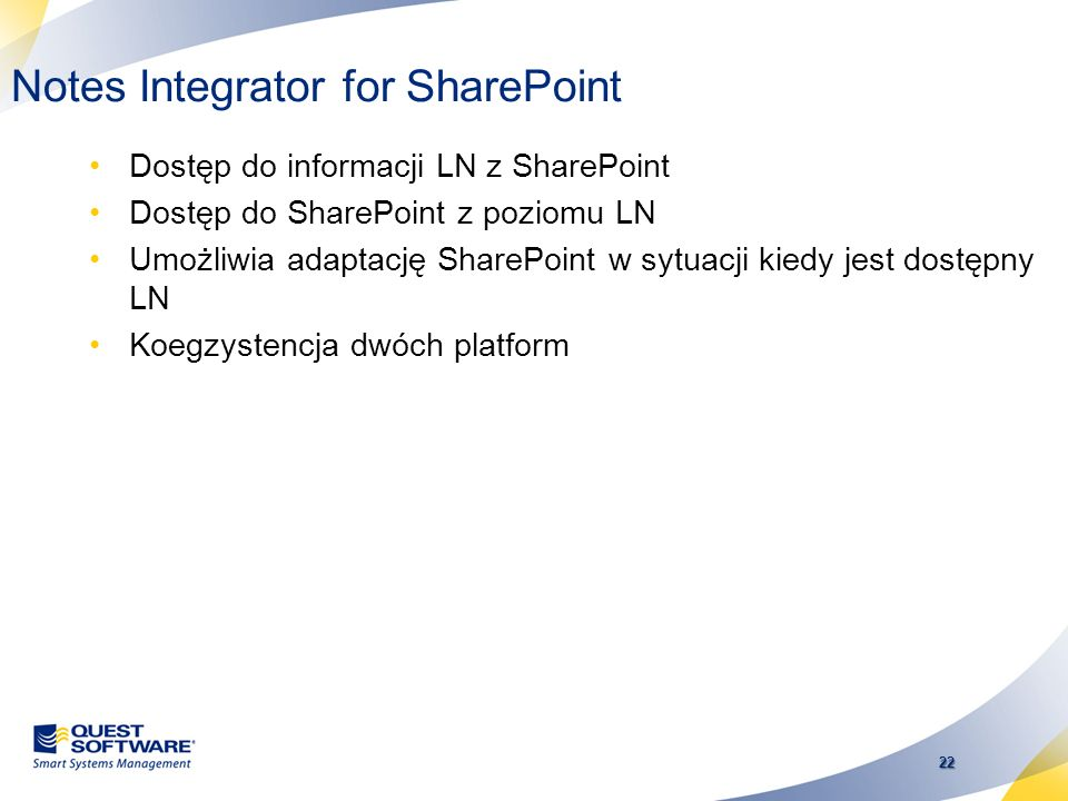 Notes Integrator for SharePoint