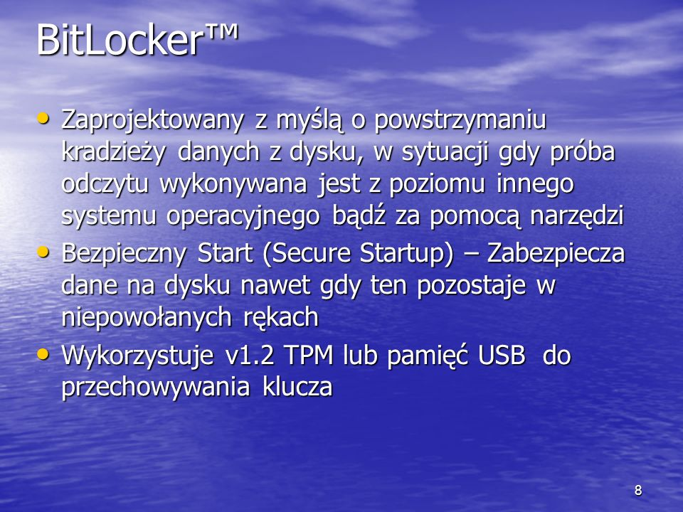 3/26/2017 12:47 PM BitLocker™