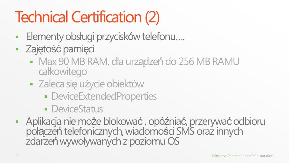 Technical Certification (2)