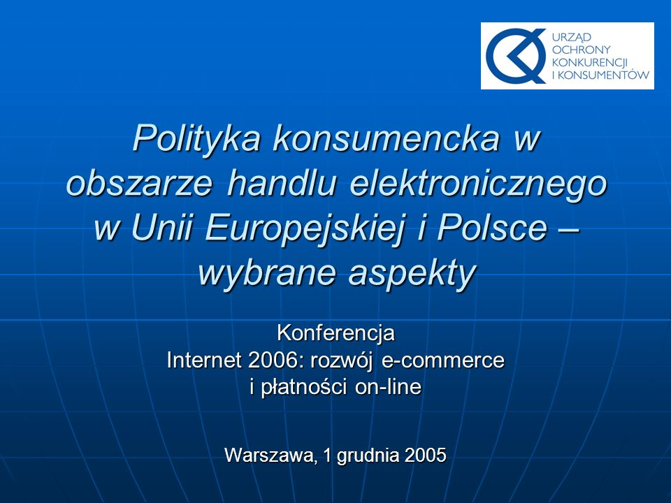 Internet 2006: rozwój e-commerce