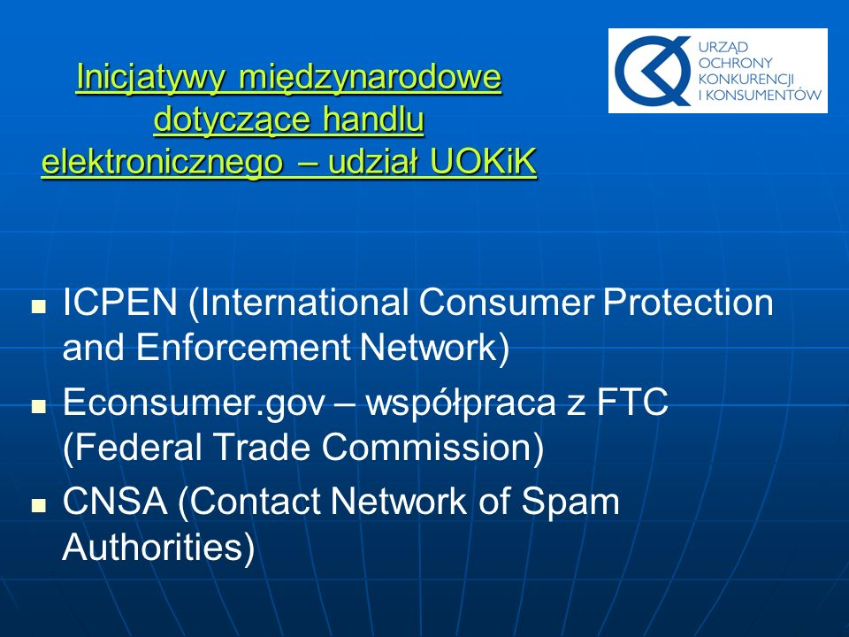 ICPEN (International Consumer Protection and Enforcement Network)