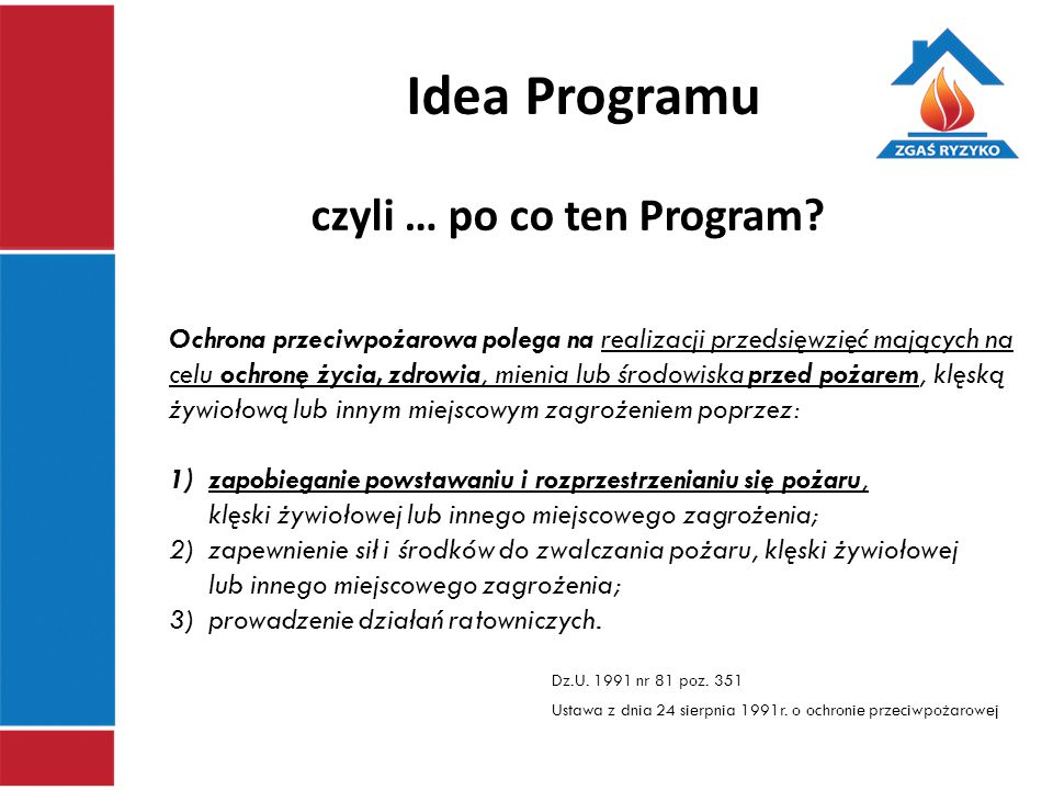 czyli … po co ten Program