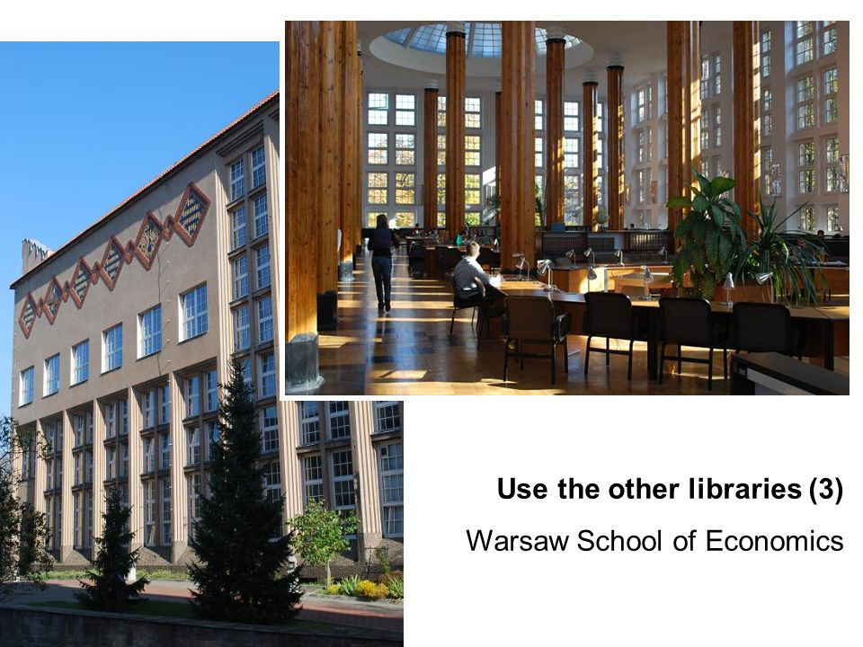 Use the other libraries (3)