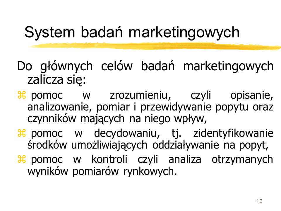 System badań marketingowych