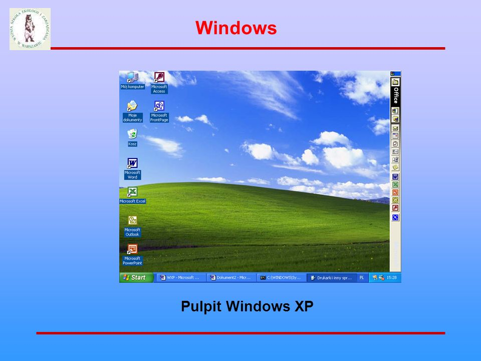 Windows Pulpit Windows XP