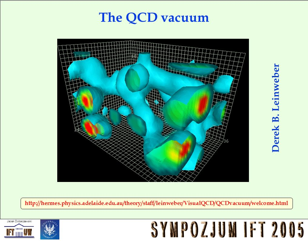 The QCD vacuum Derek B. Leinweber