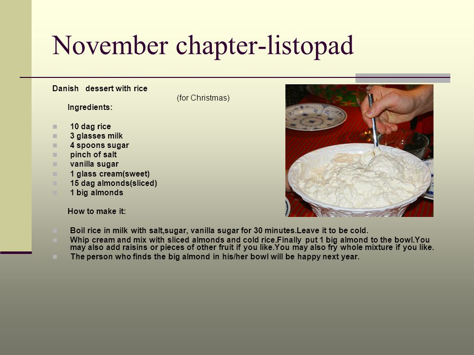 November chapter-listopad