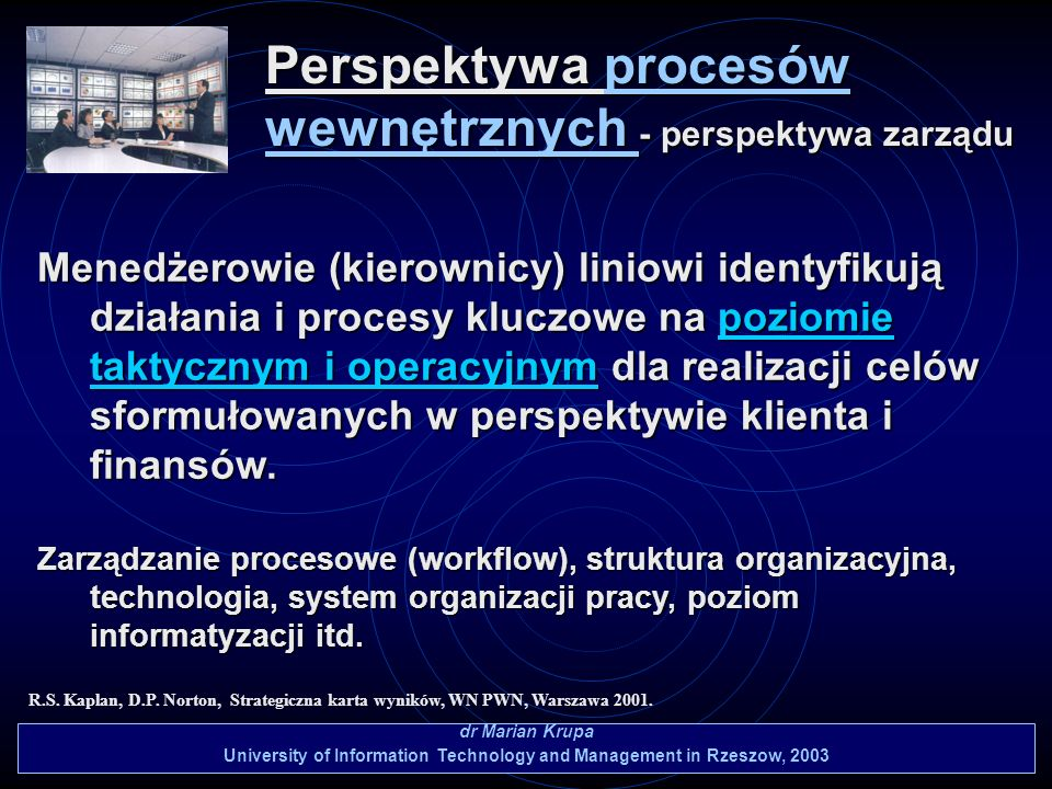 University of Information Technology and Management in Rzeszow, 2003