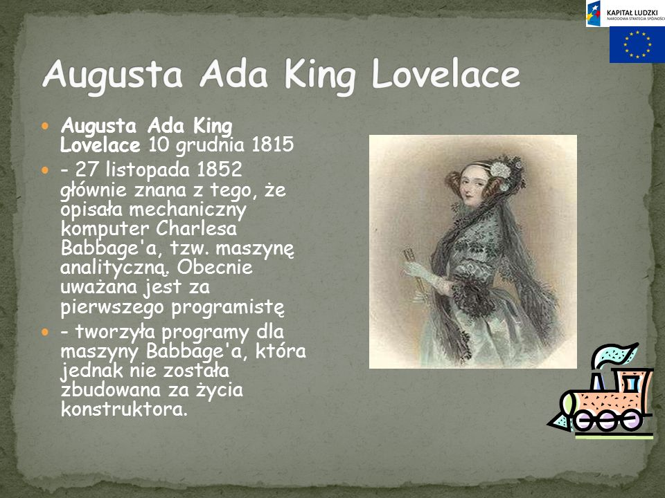 Augusta Ada King Lovelace