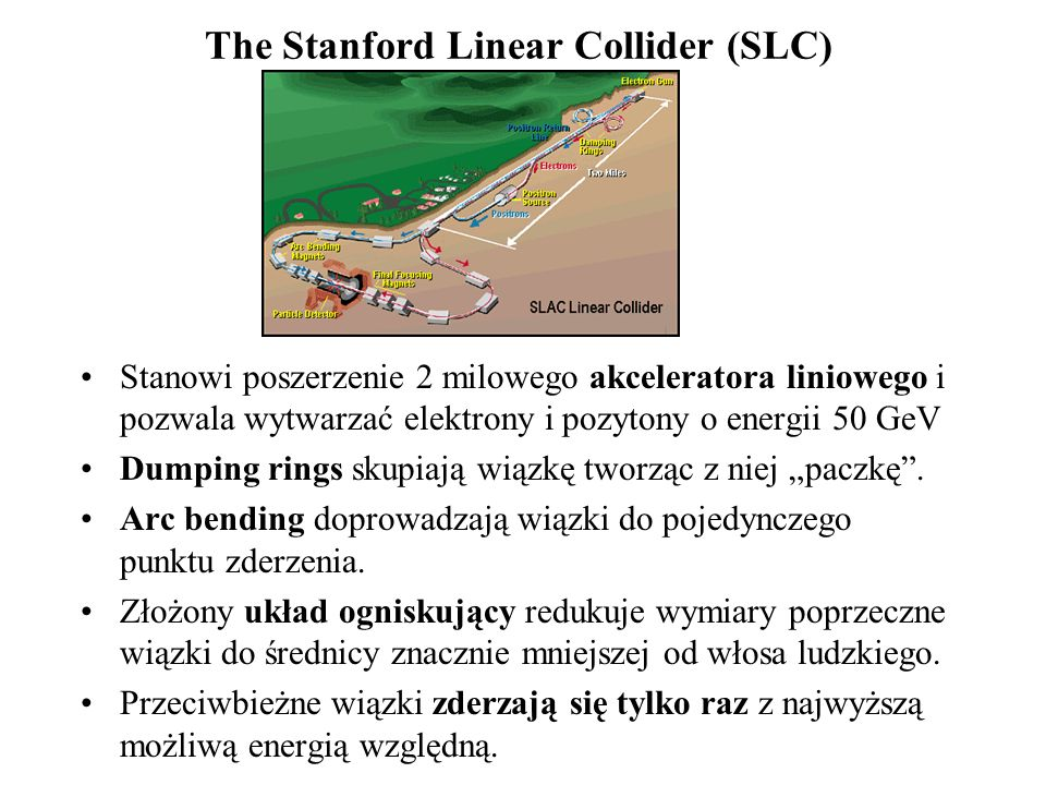 The Stanford Linear Collider (SLC)