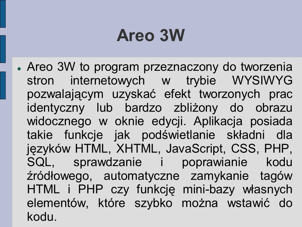Areo 3W