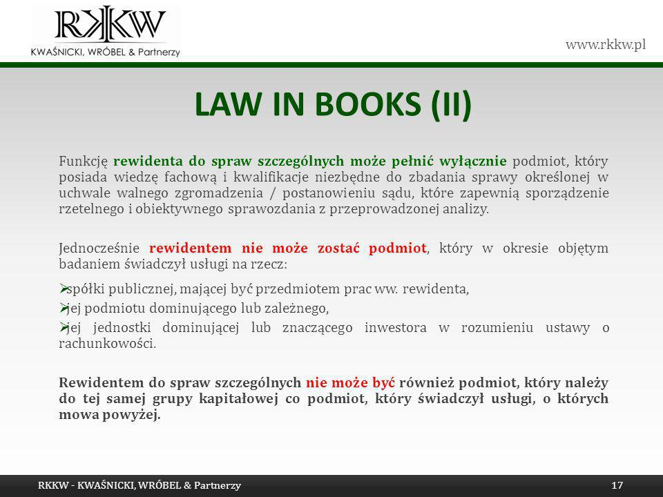 Law in books (Ii)