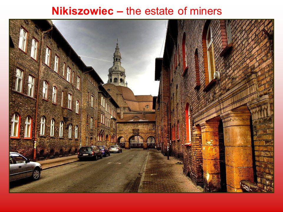 Nikiszowiec – the estate of miners