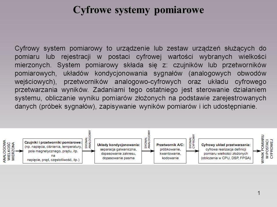 Cyfrowe Systemy Pomiarowe Ppt Pobierz