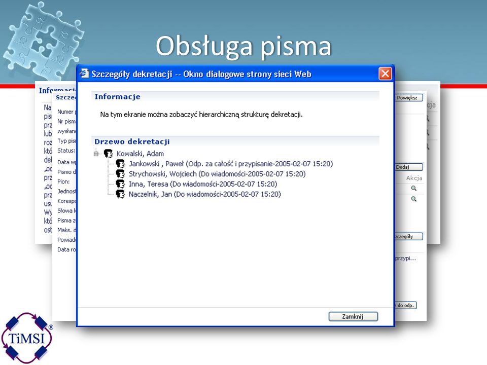 3/24/ :35 AM Obsługa pisma. © 2004 Microsoft Corporation. All rights reserved.