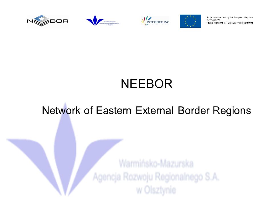 Network of Eastern External Border Regions