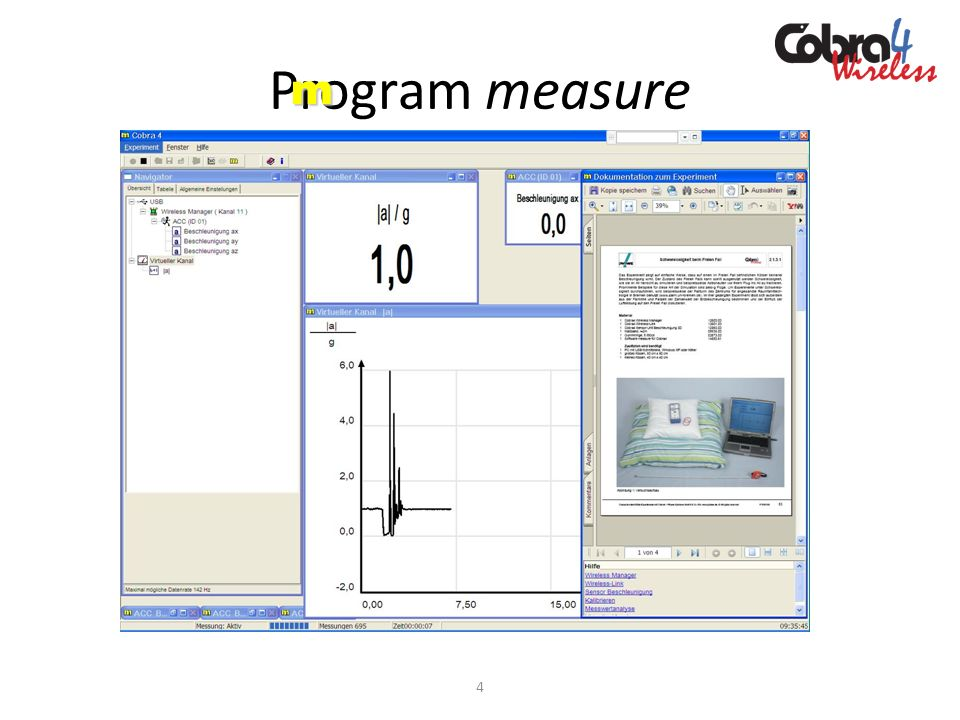 Program measure m