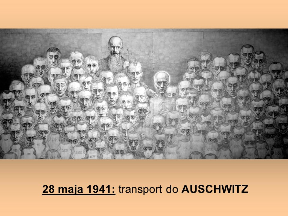28 maja 1941: transport do AUSCHWITZ