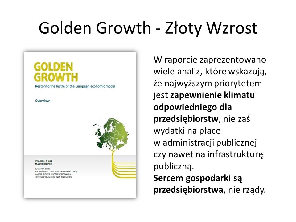 Golden Growth - Złoty Wzrost