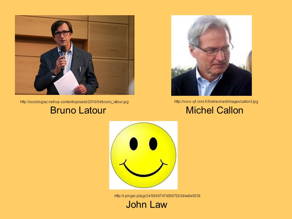 Bruno Latour Michel Callon John Law