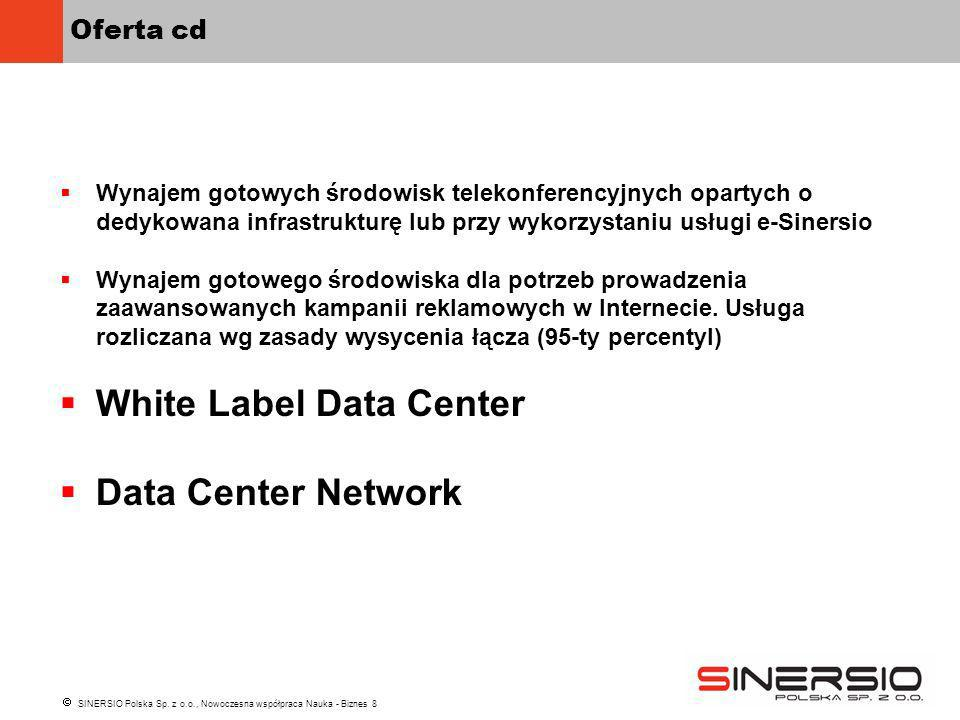 White Label Data Center Data Center Network