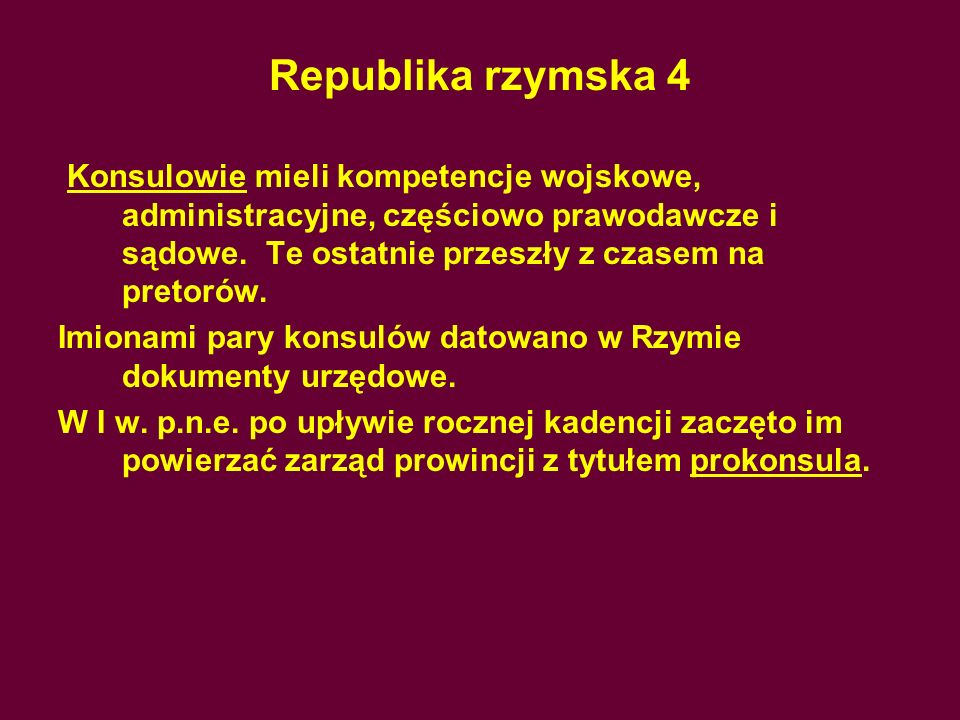 Republika rzymska 4