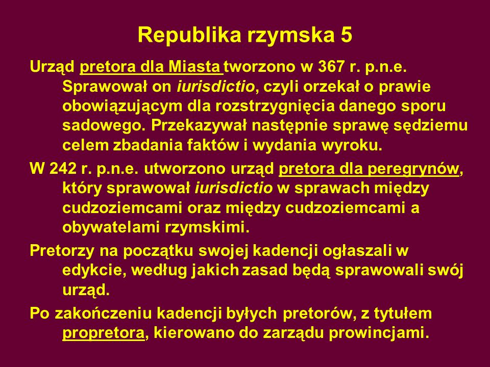 Republika rzymska 5