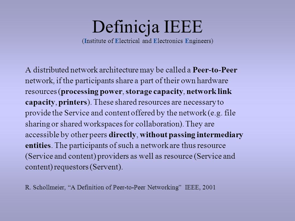 Definicja IEEE (Institute of Electrical and Electronics Engineers)