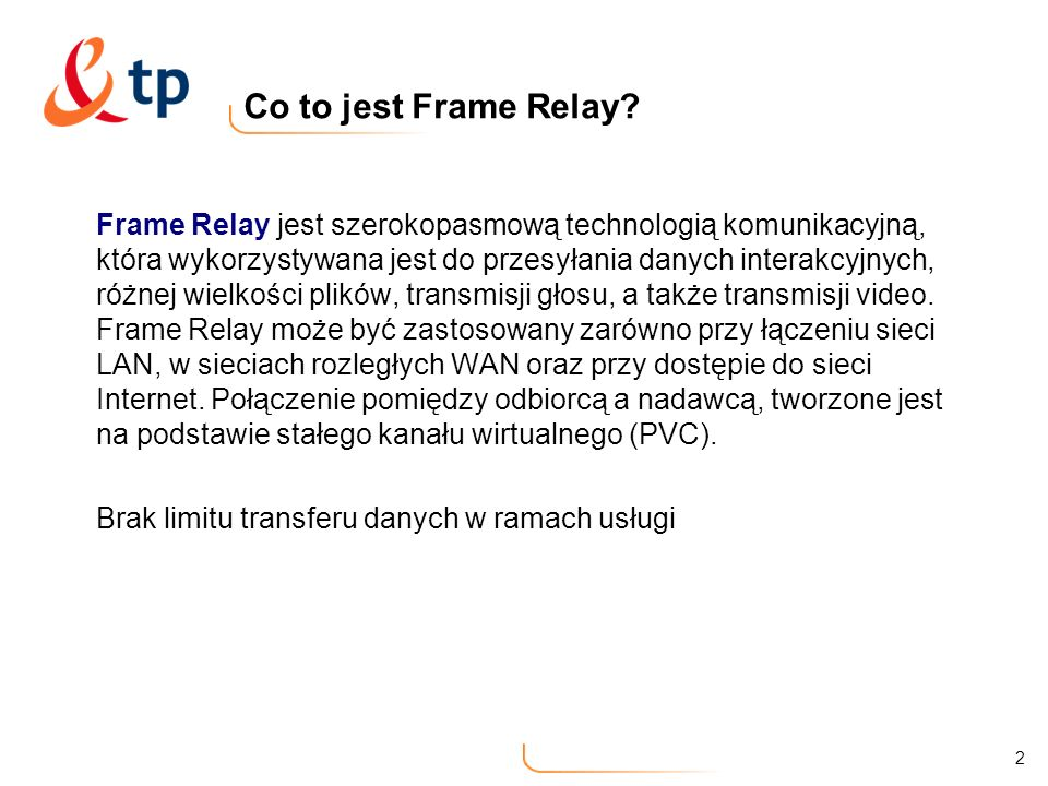 Co to jest Frame Relay