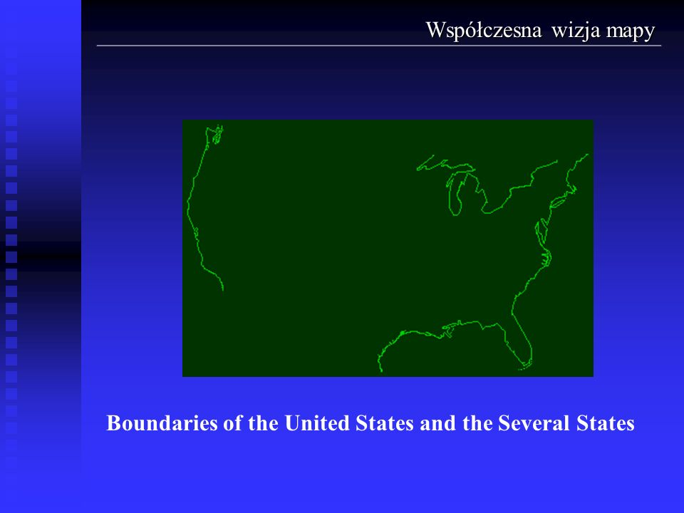 Boundaries of the United States and the Several States