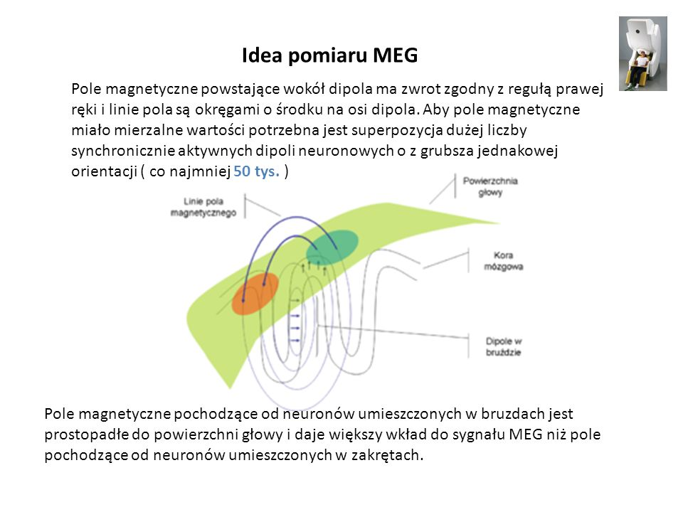 Idea pomiaru MEG