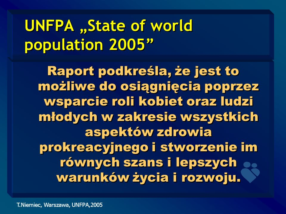 "UNFPA ""State of world population 2005"