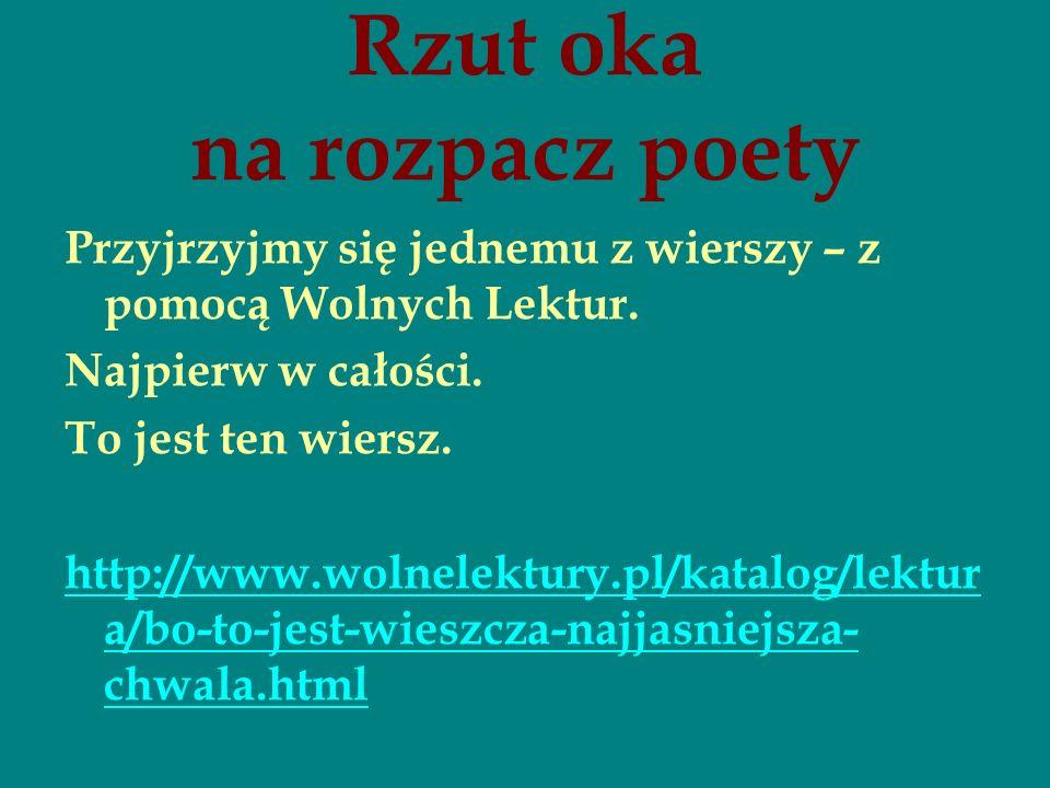 Czyli Słowacki Pół żartem Pół Serio Ppt Pobierz