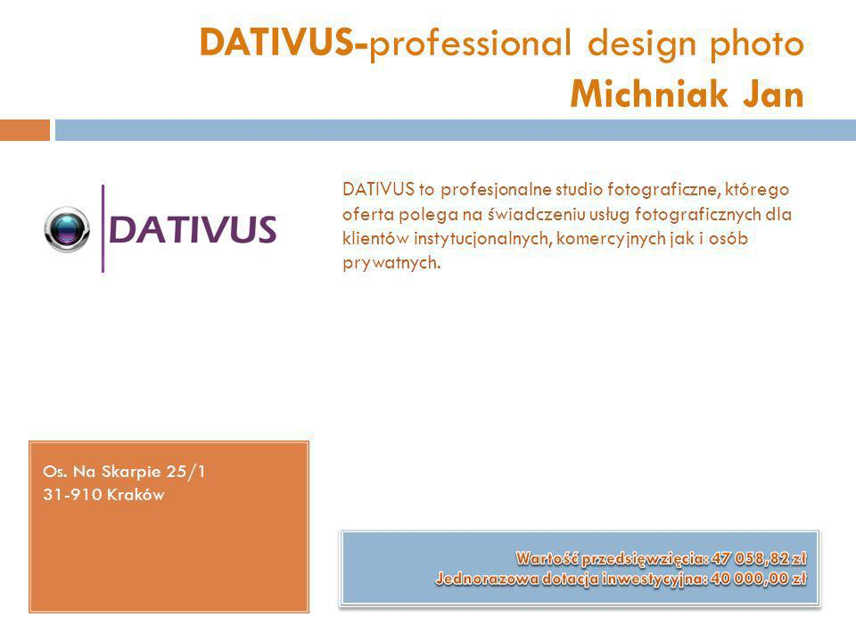 DATIVUS-professional design photo Michniak Jan