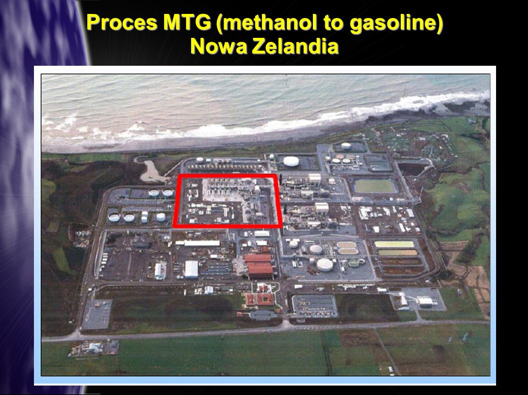 Proces MTG (methanol to gasoline) Nowa Zelandia