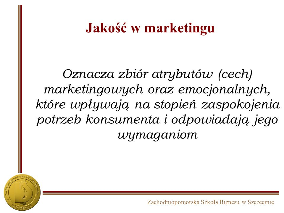 Jakość w marketingu