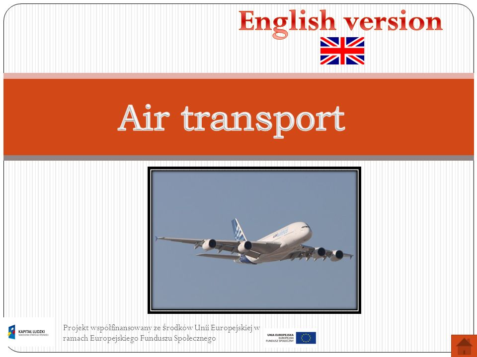 Air transport English version