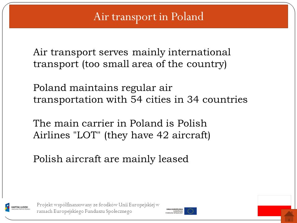 Air transport in Poland