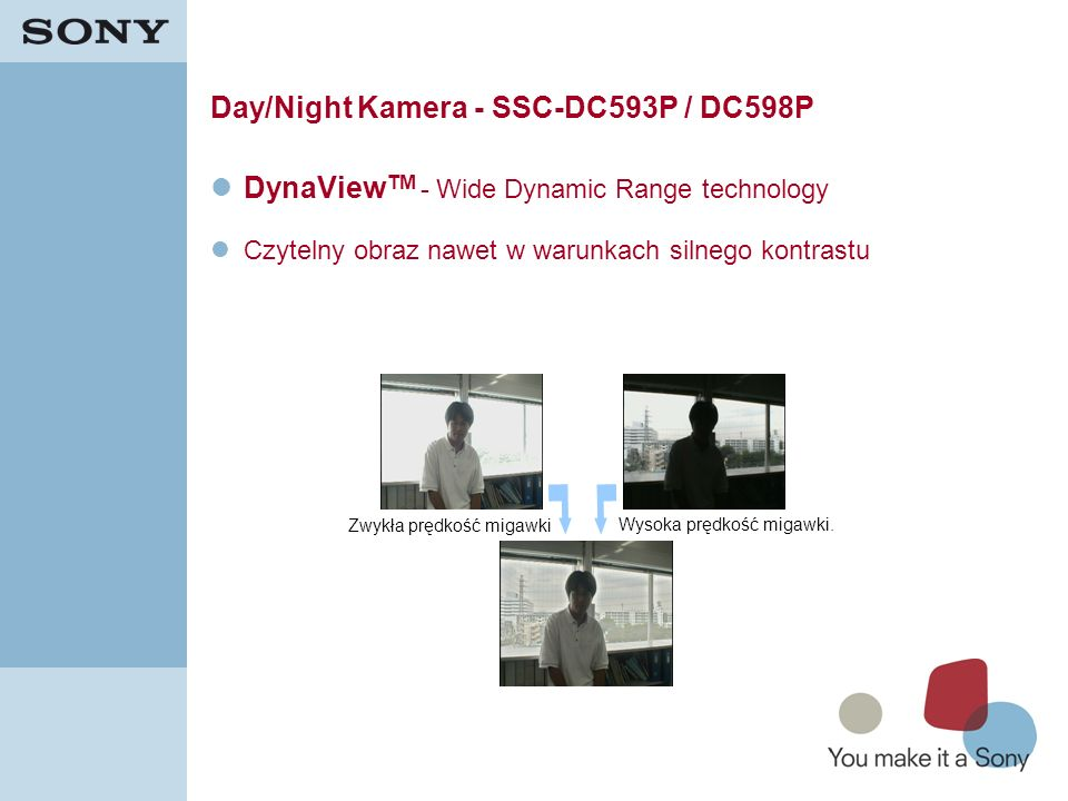 Day/Night Kamera - SSC-DC593P / DC598P