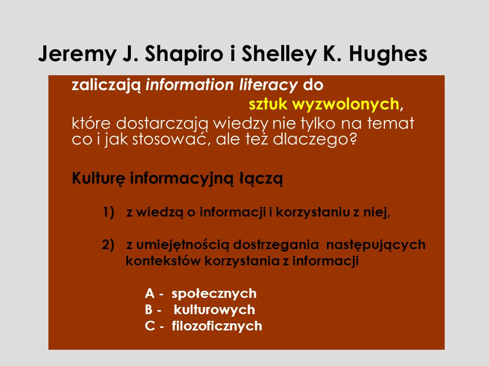 Jeremy J. Shapiro i Shelley K. Hughes
