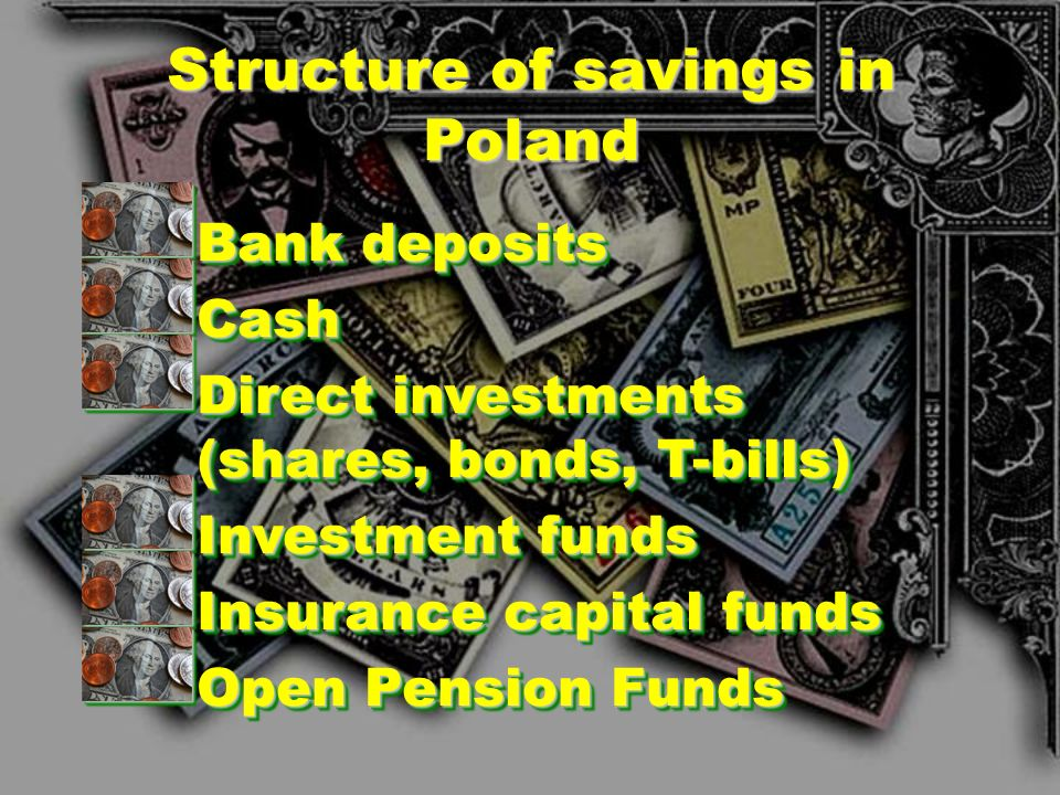 Structure of savings in Poland