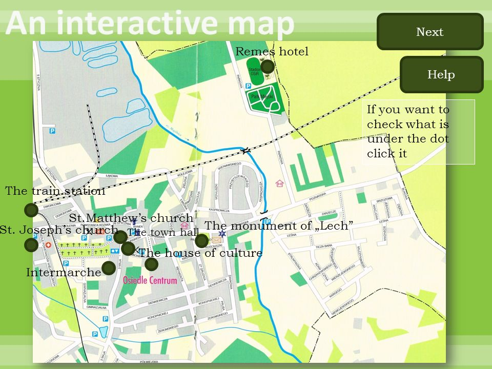 An interactive map Next Remes hotel Help