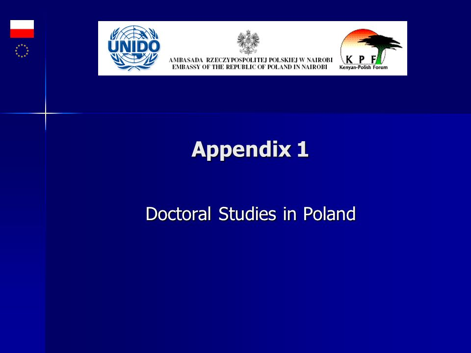 Doctoral Studies in Poland
