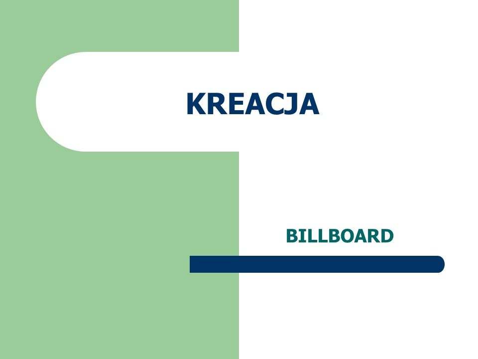 KREACJA BILLBOARD